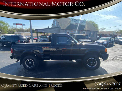 2003 Ford Ranger for sale at International Motor Co. in St. Charles MO