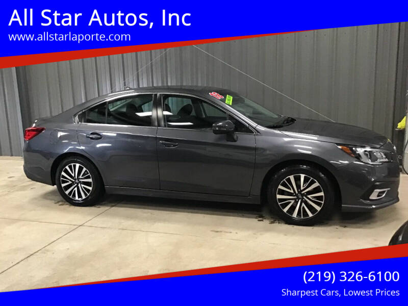2018 Subaru Legacy for sale at All Star Autos, Inc in La Porte IN