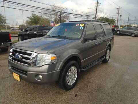 2012 Ford Expedition for sale at BAS MOTORS in Houston TX