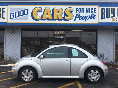 2001 Volkswagen New Beetle for sale at Good Cars 4 Nice People in Omaha NE