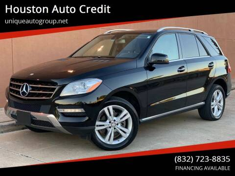 2015 Mercedes-Benz M-Class for sale at Houston Auto Credit in Houston TX