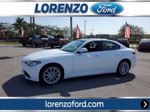 2019 Alfa Romeo Giulia for sale at Lorenzo Ford in Homestead FL