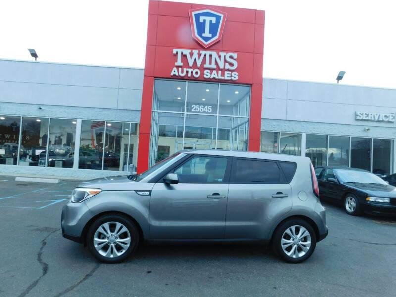 2015 Kia Soul for sale at Twins Auto Sales Inc Redford 1 in Redford MI