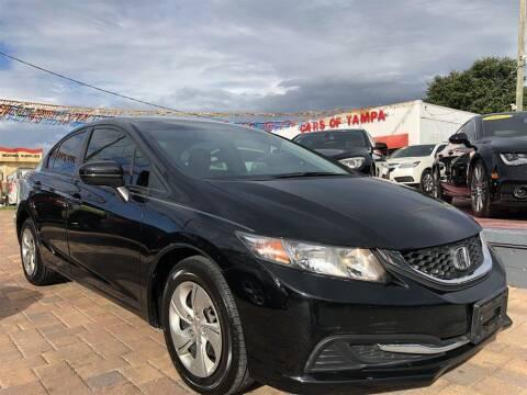 2015 Honda Civic for sale at Cars of Tampa in Tampa FL