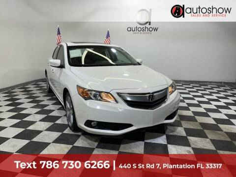 2014 Acura ILX for sale at AUTOSHOW SALES & SERVICE in Plantation FL