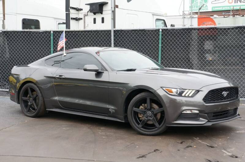 2017 Ford Mustang for sale at MATRIX AUTO SALES INC in Miami FL