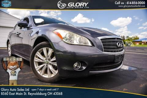 2011 Infiniti M37 for sale at Glory Auto Sales LTD in Reynoldsburg OH