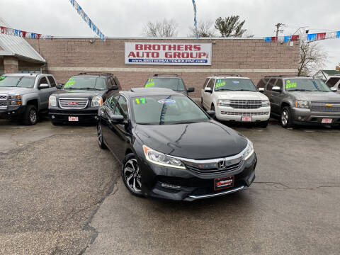 2017 Honda Accord for sale at Brothers Auto Group in Youngstown OH