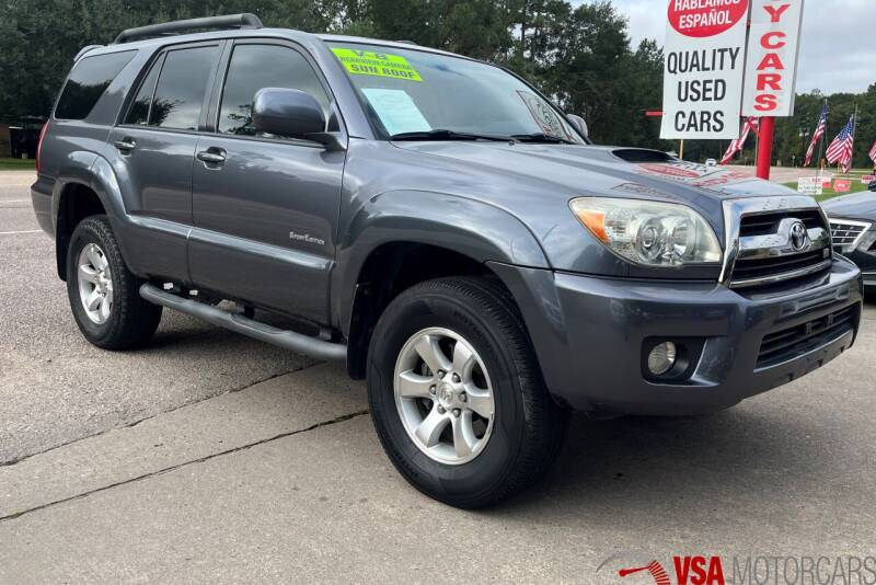 2007 Toyota 4Runner for sale at VSA MotorCars in Cypress TX