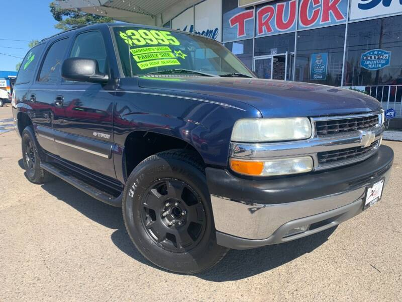 2003 Chevrolet Tahoe for sale at Xtreme Truck Sales in Woodburn OR