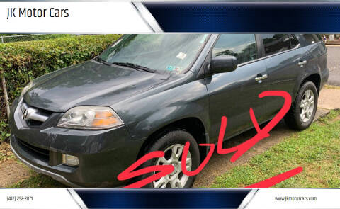2005 Acura MDX for sale at JK Motor Cars in Pittsburgh PA