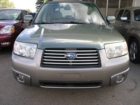 2007 Subaru Forester for sale at ZJ's Custom Auto Inc. in Roseville MI