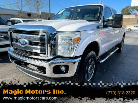 2011 Ford F-250 Super Duty for sale at Magic Motors Inc. in Snellville GA