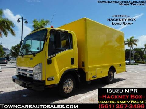 2014 Isuzu NPR for sale at Town Cars Auto Sales in West Palm Beach FL