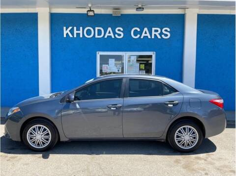2016 Toyota Corolla for sale at Khodas Cars in Gilroy CA