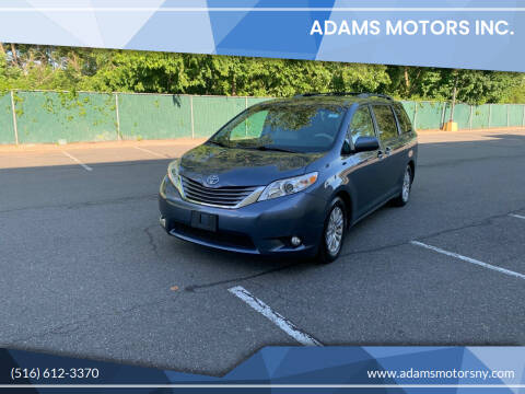 2013 Toyota Sienna for sale at Adams Motors INC. in Inwood NY