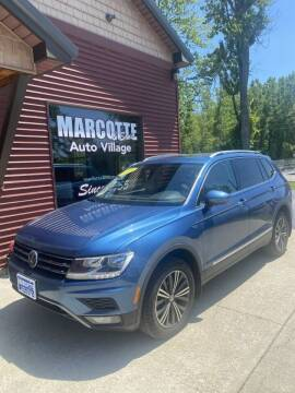 2018 Volkswagen Tiguan for sale at Marcotte & Sons Auto Village in North Ferrisburgh VT