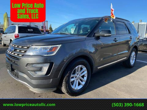 2017 Ford Explorer for sale at Low Price Auto and Truck Sales, LLC in Salem OR