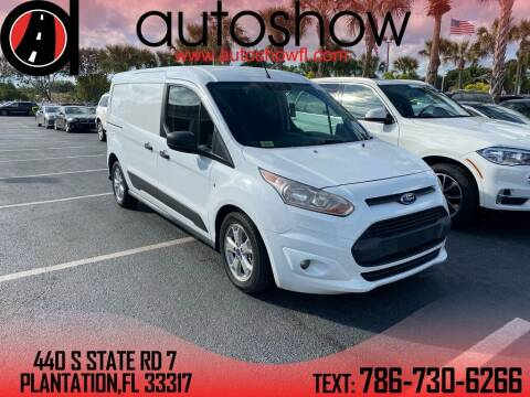 2014 Ford Transit Connect Cargo for sale at AUTOSHOW SALES & SERVICE in Plantation FL