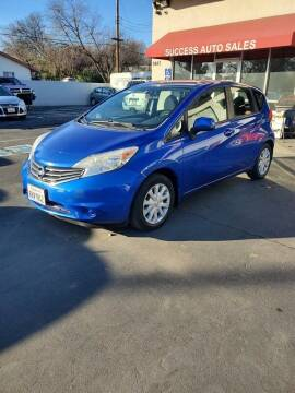 2014 Nissan Versa Note for sale at Success Auto Sales & Service in Citrus Heights CA