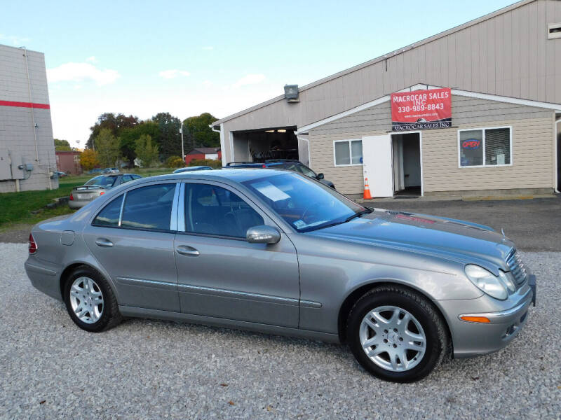2006 Mercedes-Benz E-Class for sale at Macrocar Sales Inc in Akron OH