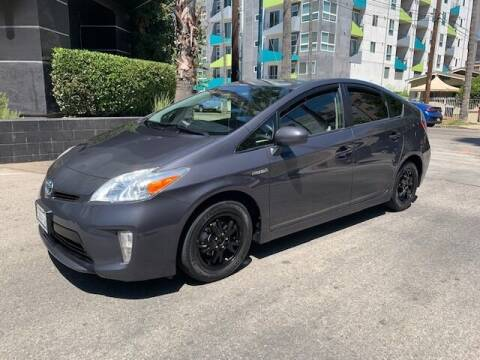 2013 Toyota Prius for sale at FJ Auto Sales in North Hollywood CA