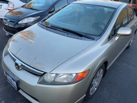 2007 Honda Civic for sale at CARZ in San Diego CA
