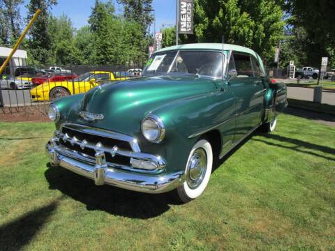 1952 Chevrolet Bel Air for sale at LULAY'S CAR CONNECTION in Salem OR