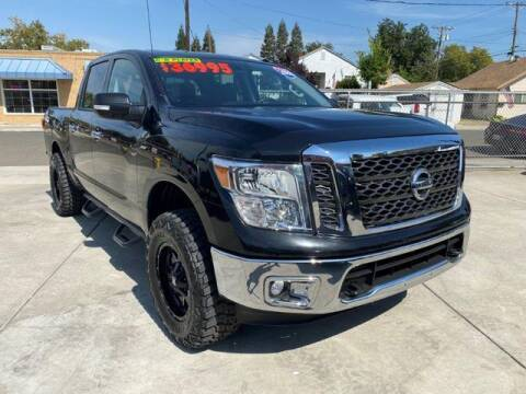 2018 Nissan Titan for sale at Quality Pre-Owned Vehicles in Roseville CA