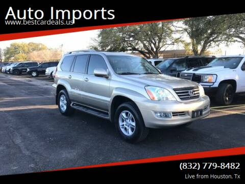2004 Lexus GX 470 for sale at Auto Imports in Houston TX
