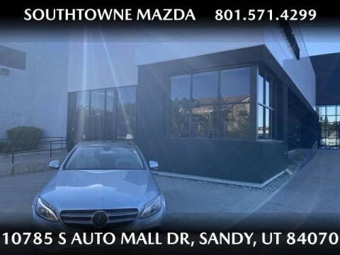 2015 Mercedes-Benz C-Class for sale at Southtowne Mazda of Sandy in Sandy UT