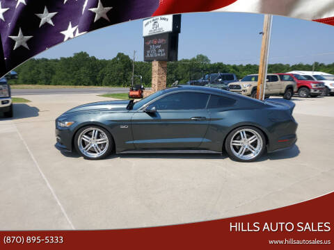 2015 Ford Mustang for sale at Hills Auto Sales in Salem AR