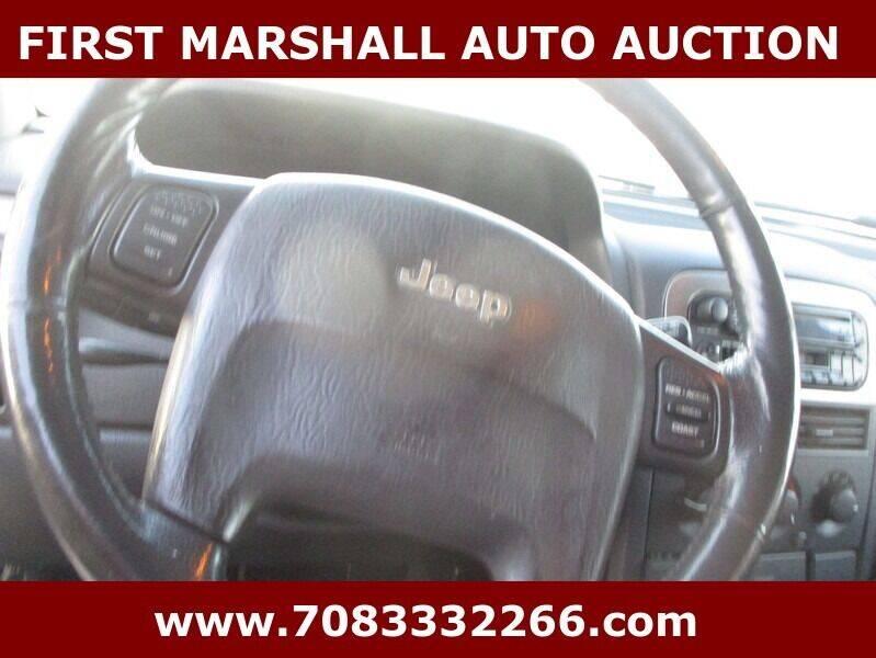 2002 Jeep Grand Cherokee 4dr Laredo 4WD SUV - Harvey IL