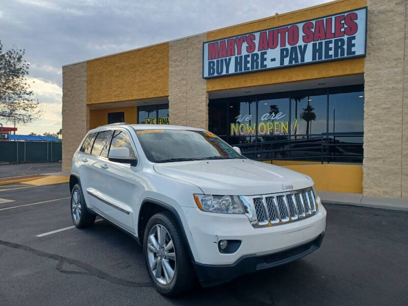 2012 Jeep Grand Cherokee for sale at Marys Auto Sales in Phoenix AZ