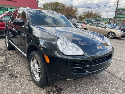 2006 Porsche Cayenne for sale at GREENLIGHT AUTO SALES in Akron OH