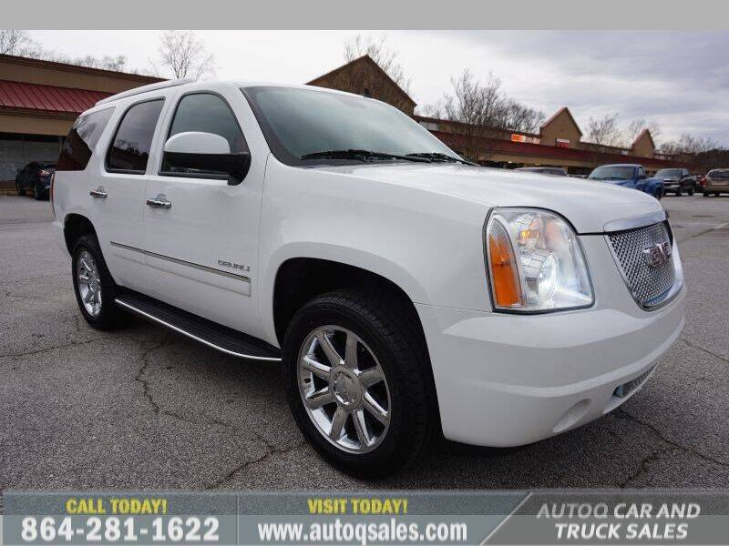 2011 GMC Yukon for sale at Auto Q Car and Truck Sales in Mauldin SC