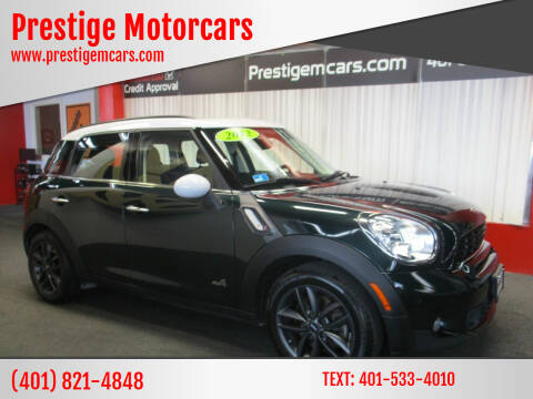 2012 MINI Cooper Countryman for sale at Prestige Motorcars in Warwick RI