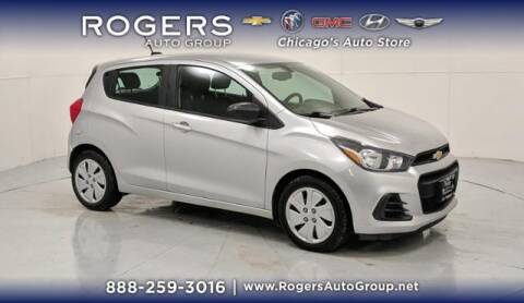 2016 Chevrolet Spark for sale at ROGERS  AUTO  GROUP in Chicago IL