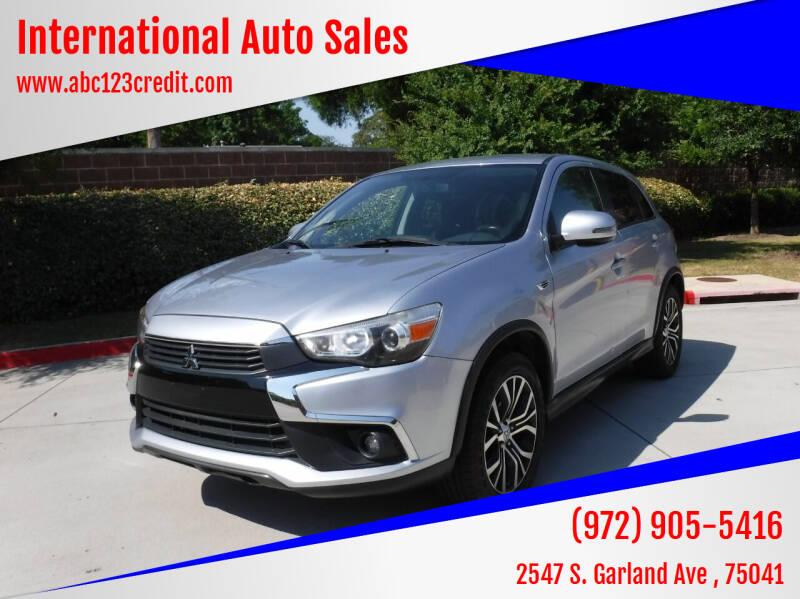 2017 Mitsubishi Outlander Sport for sale at International Auto Sales in Garland TX