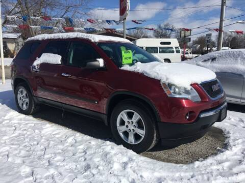 2010 GMC Acadia for sale at Antique Motors in Plymouth IN
