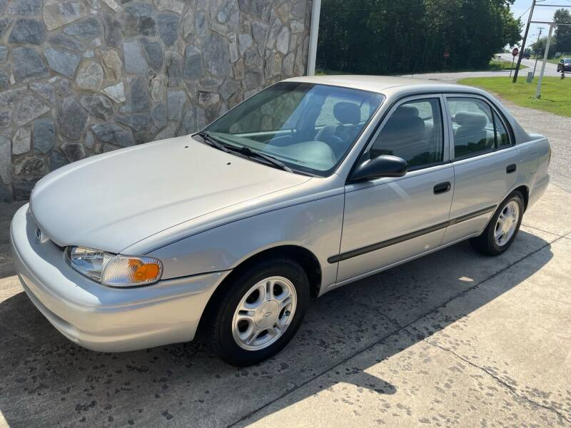 1999 Chevrolet Prizm for sale at Jack Hedrick Auto Sales Inc in Madison NC