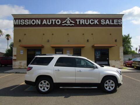 2015 GMC Acadia for sale at Mission Auto & Truck Sales, Inc. in Mission TX