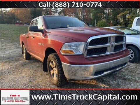 2009 Dodge Ram Pickup 1500 for sale at TTC AUTO OUTLET/TIM'S TRUCK CAPITAL & AUTO SALES INC ANNEX in Epsom NH