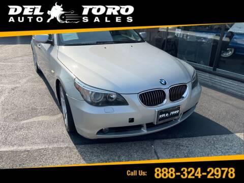 2007 BMW 5 Series for sale at DEL TORO AUTO SALES in Auburn WA