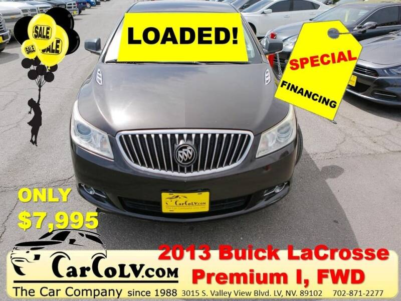 2013 Buick LaCrosse for sale at The Car Company in Las Vegas NV