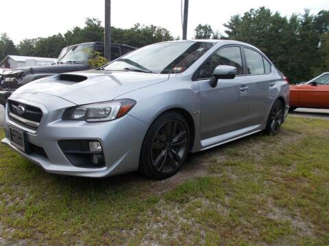 2017 Subaru WRX for sale at Manchester Motorsports in Goffstown NH