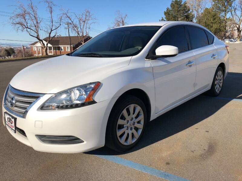 2014 Nissan Sentra for sale at DRIVE N BUY AUTO SALES in Ogden UT