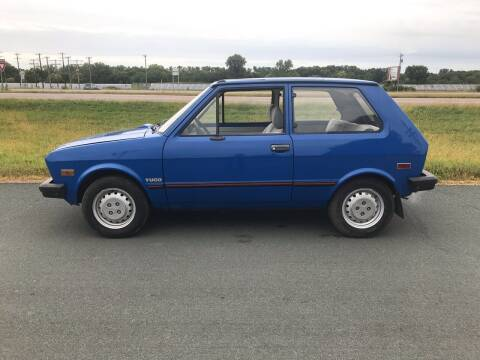1988 Yugo GV for sale at Whi-Con Auto Brokers in Shakopee MN
