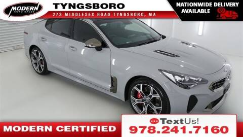 2021 Kia Stinger for sale at Modern Auto Sales in Tyngsboro MA