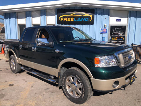 2007 Ford F-150 for sale at Freeland LLC in Waukesha WI